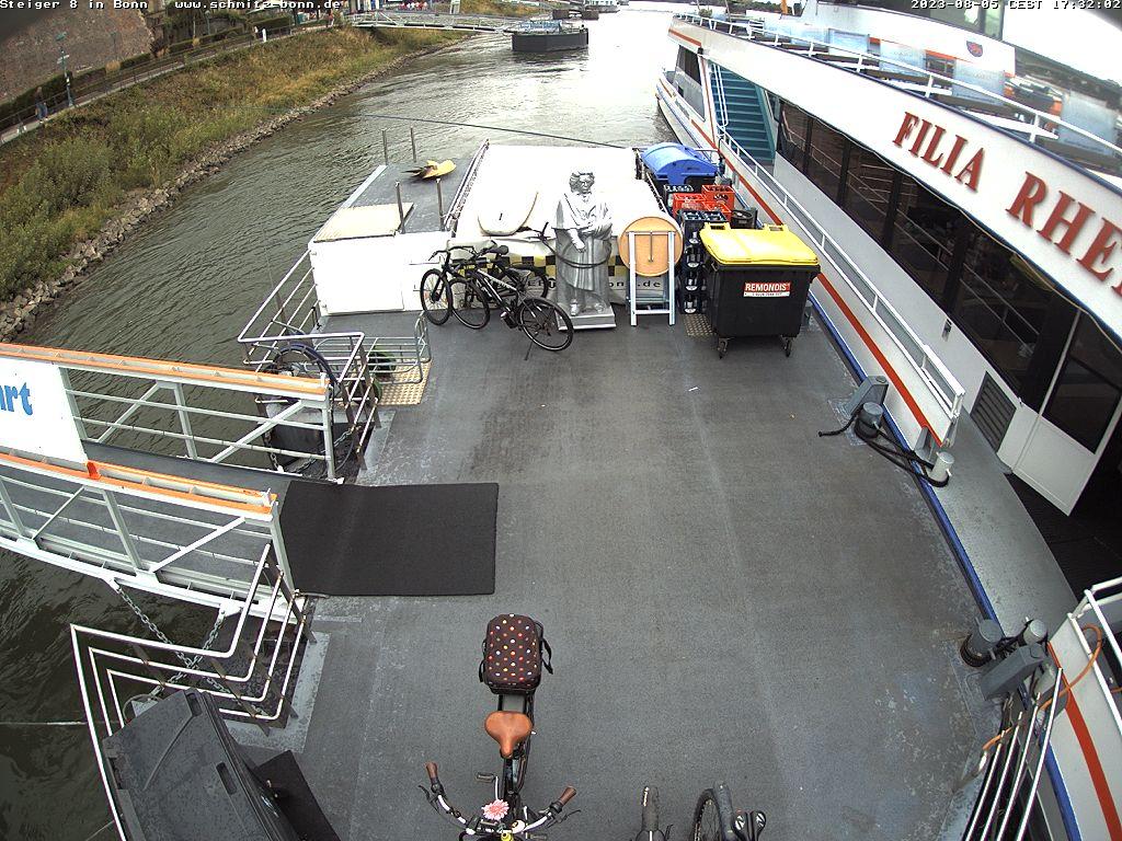 Webcam Bonn Alter Zoll mit Blick nach Norden